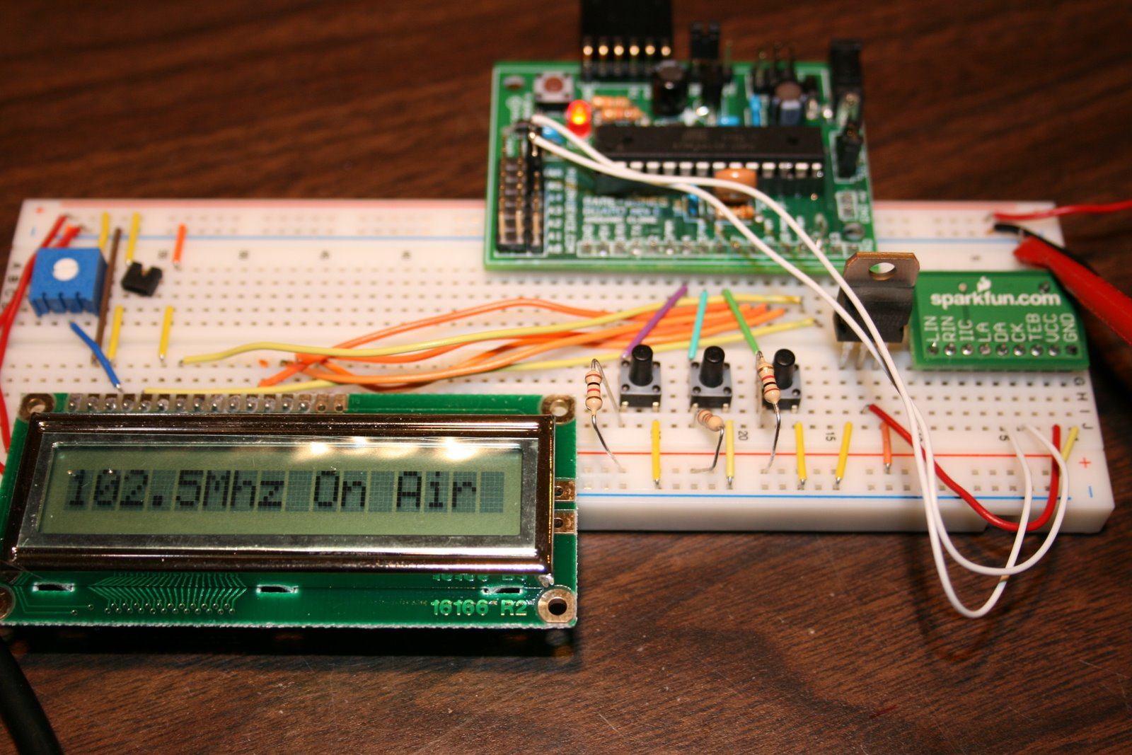 FM Stereo Broadcaster - Breadboard Version