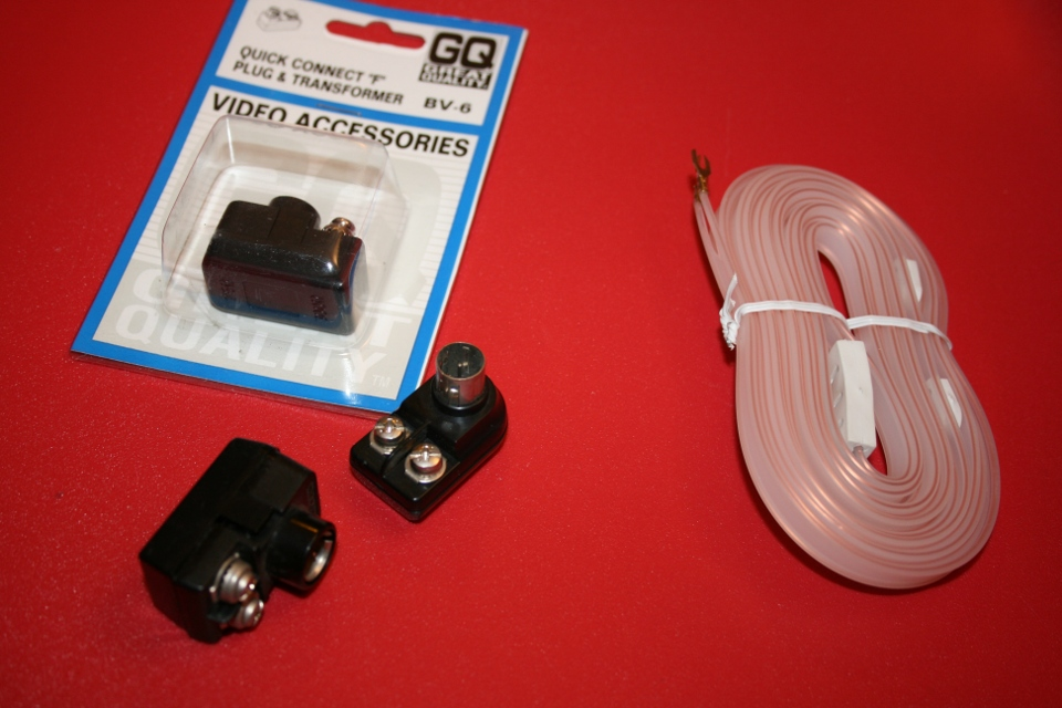 Various Antenna Bits - VHF Balun and Twinlead Folded Dipole