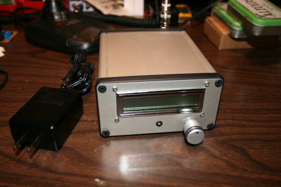 FM Stereo Broadcaster - Enclosure
