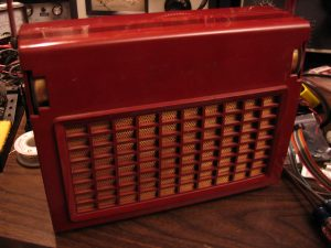 Truetone D3604A, in Burgendy Red