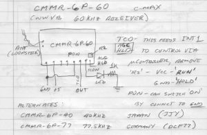 Schematic of the CMMR-6P-60