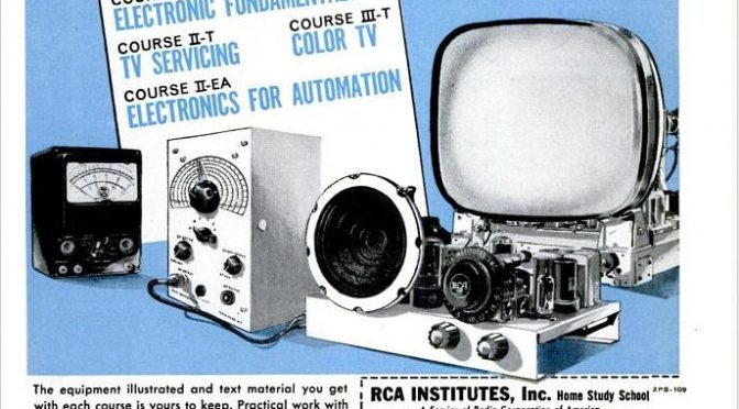 RCA Home Study Radio & TV Course Ad