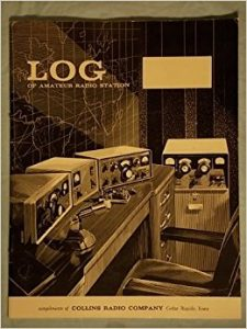 Collins Radio Ham Station Logbook